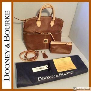 💖 3 Piece Set 💖 Satchel Leather Dooney & Bourke
